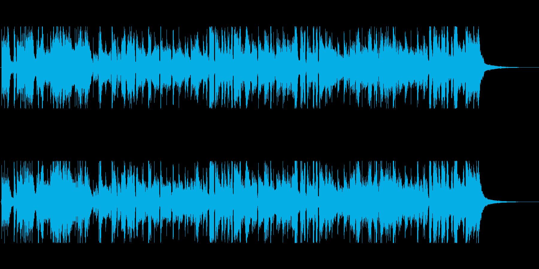 牛肉をテーマにした楽曲の再生済みの波形