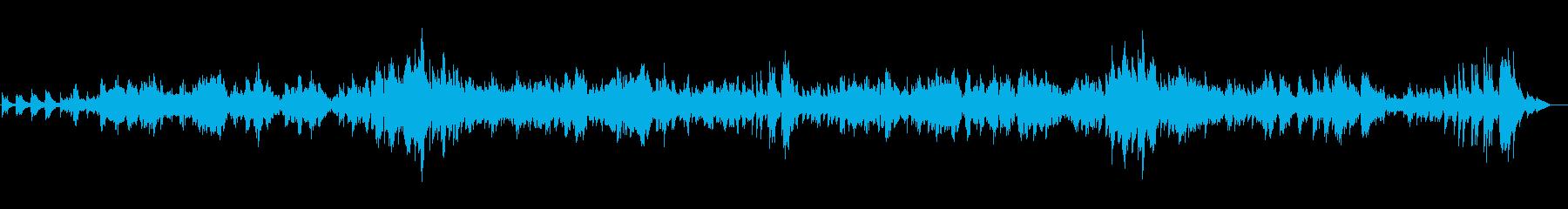 【生演奏】カッコいいバイオリンソナタ1章の再生済みの波形