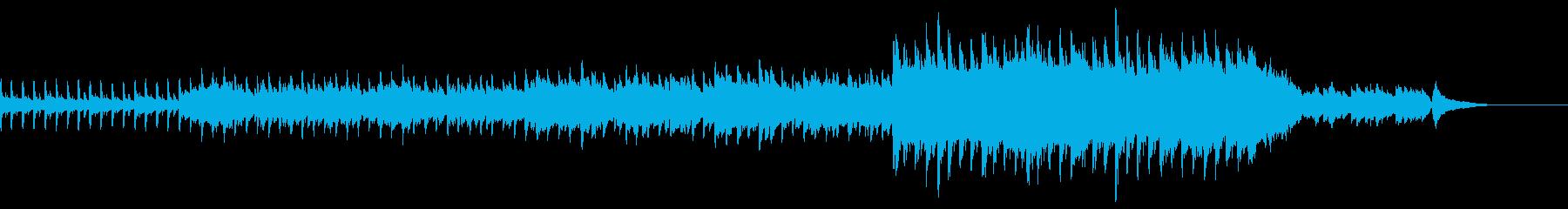 企業VP用夜空に合うギターがメインの曲の再生済みの波形
