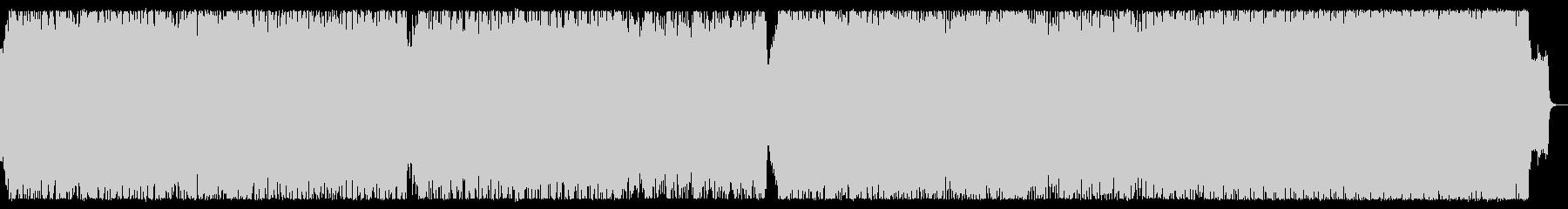 戦場を彷彿させるオーケストラ・ロング版の未再生の波形