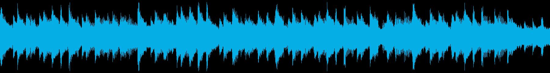 明るく希望に満ちたピアノポップ(ループ)の再生済みの波形