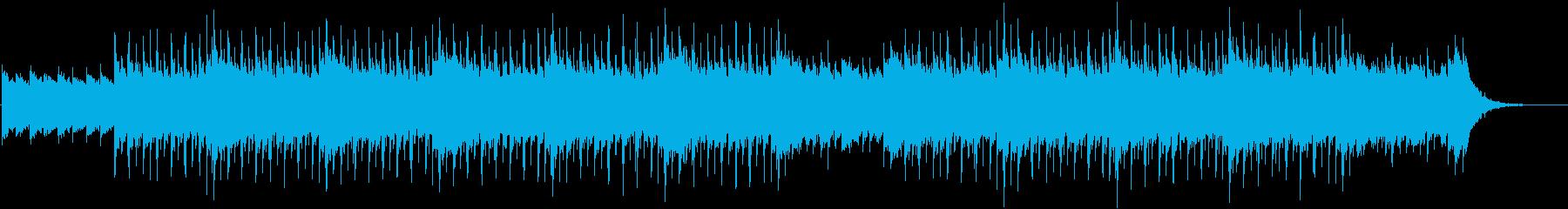 切なく幻想的なチルアウトの再生済みの波形