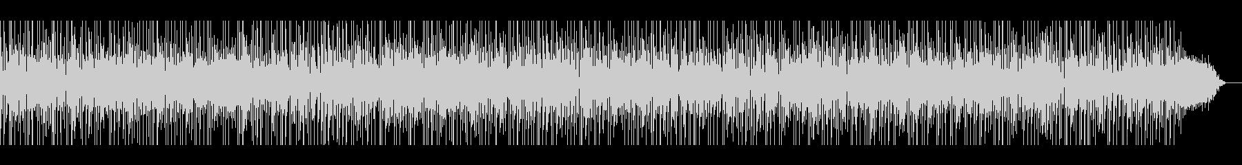 生演奏バンドファンキージャズBGMや映像の未再生の波形