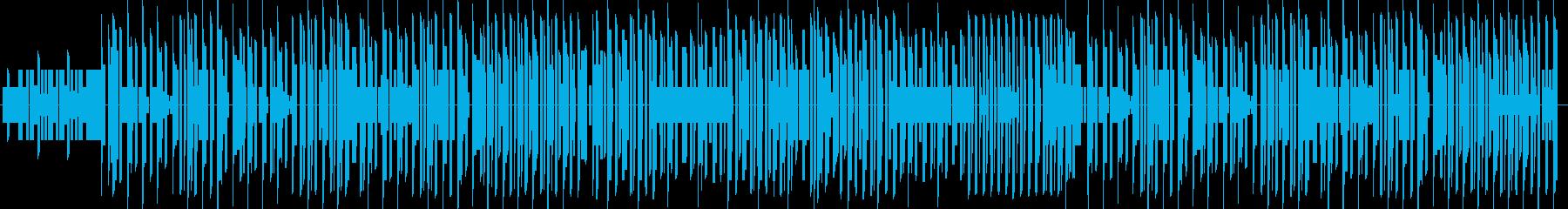 エンターティナー レトロゲーム風の再生済みの波形