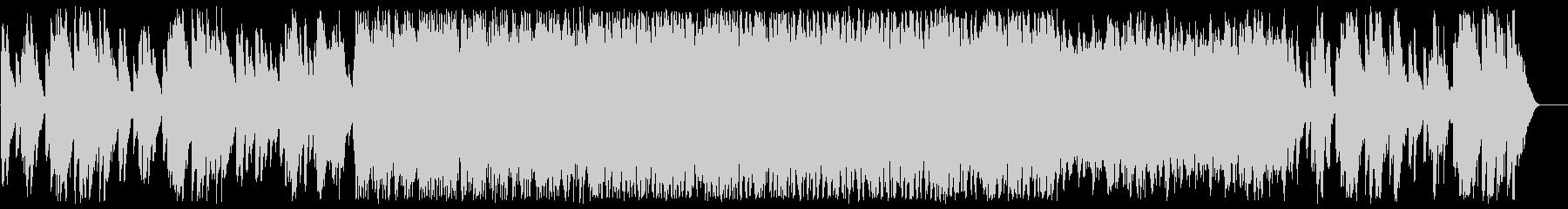 ファンタジーで不思議なシンセ鉄琴サウンドの未再生の波形
