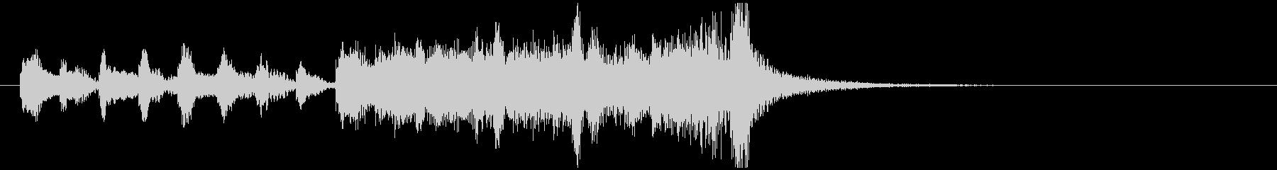 のほほんジングル026_コミカル+3の未再生の波形