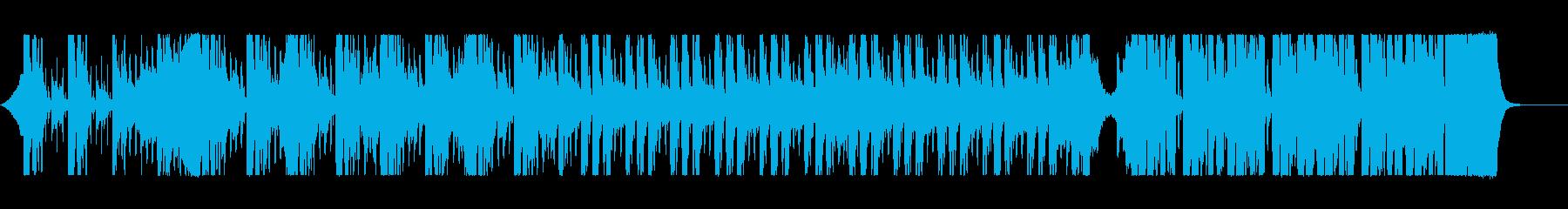 【サントラ】サスペンス風の緊張演出BGMの再生済みの波形