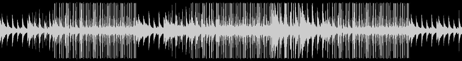 幻想的なチェロ、ローファイチルアウト音楽の未再生の波形