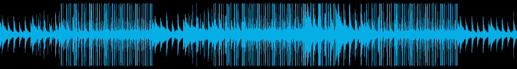 幻想的なチェロ、ローファイチルアウト音楽の再生済みの波形