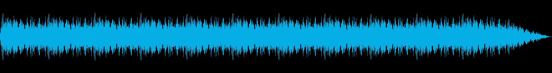 60秒のパトカー・サイレン・警察・緊急音の再生済みの波形