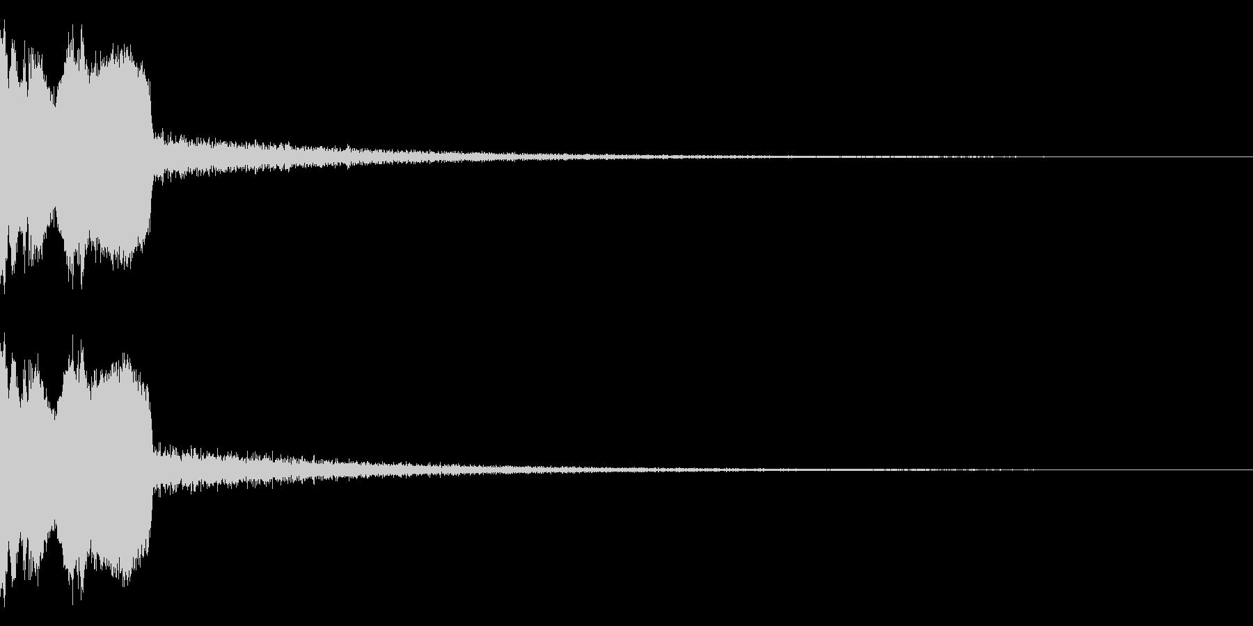 DJFX ヒットチャート発表前SE 28の未再生の波形