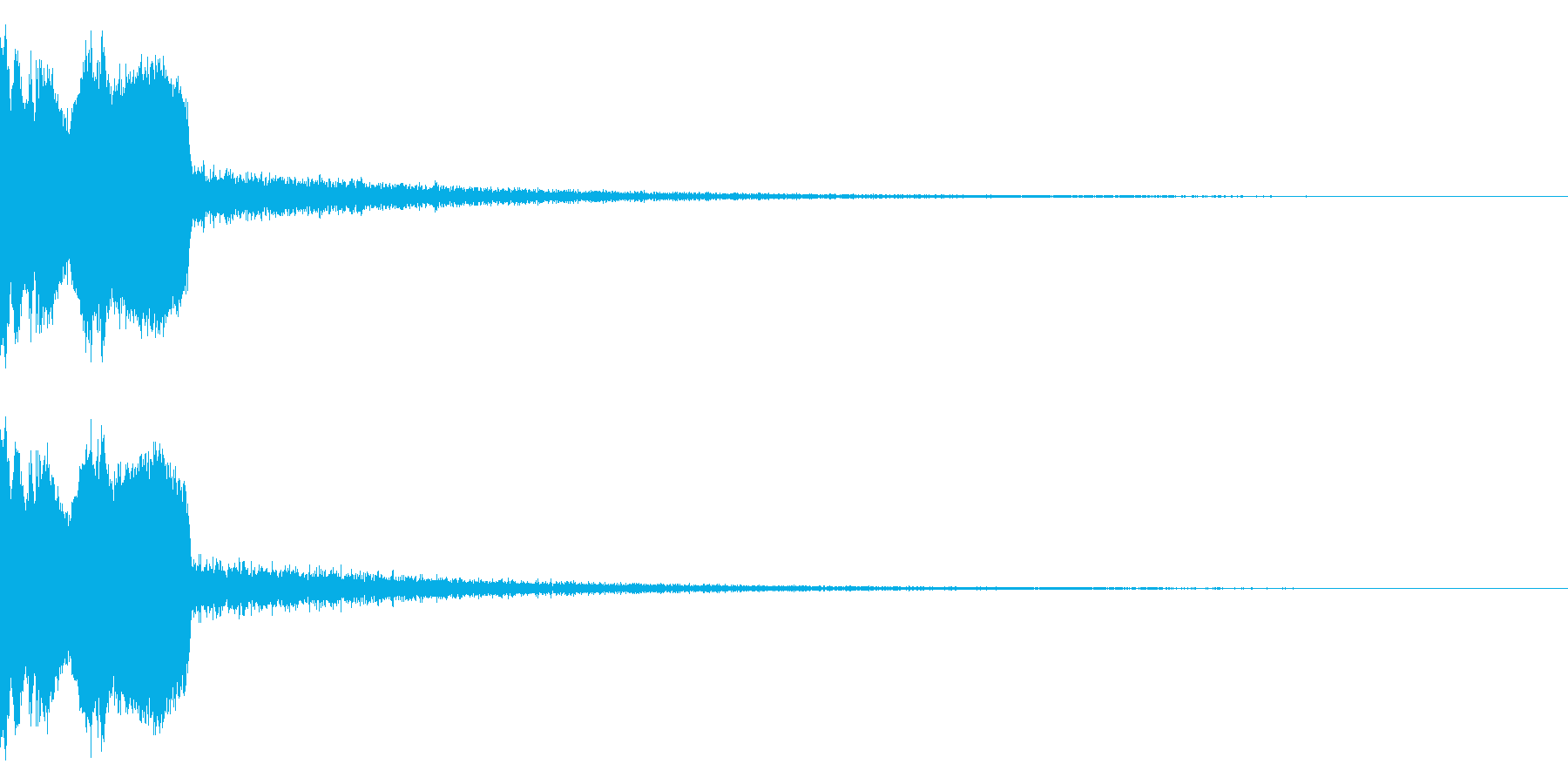 DJFX ヒットチャート発表前SE 28の再生済みの波形