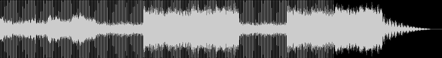 壮大でゆったりとしたエレクトロニカの未再生の波形
