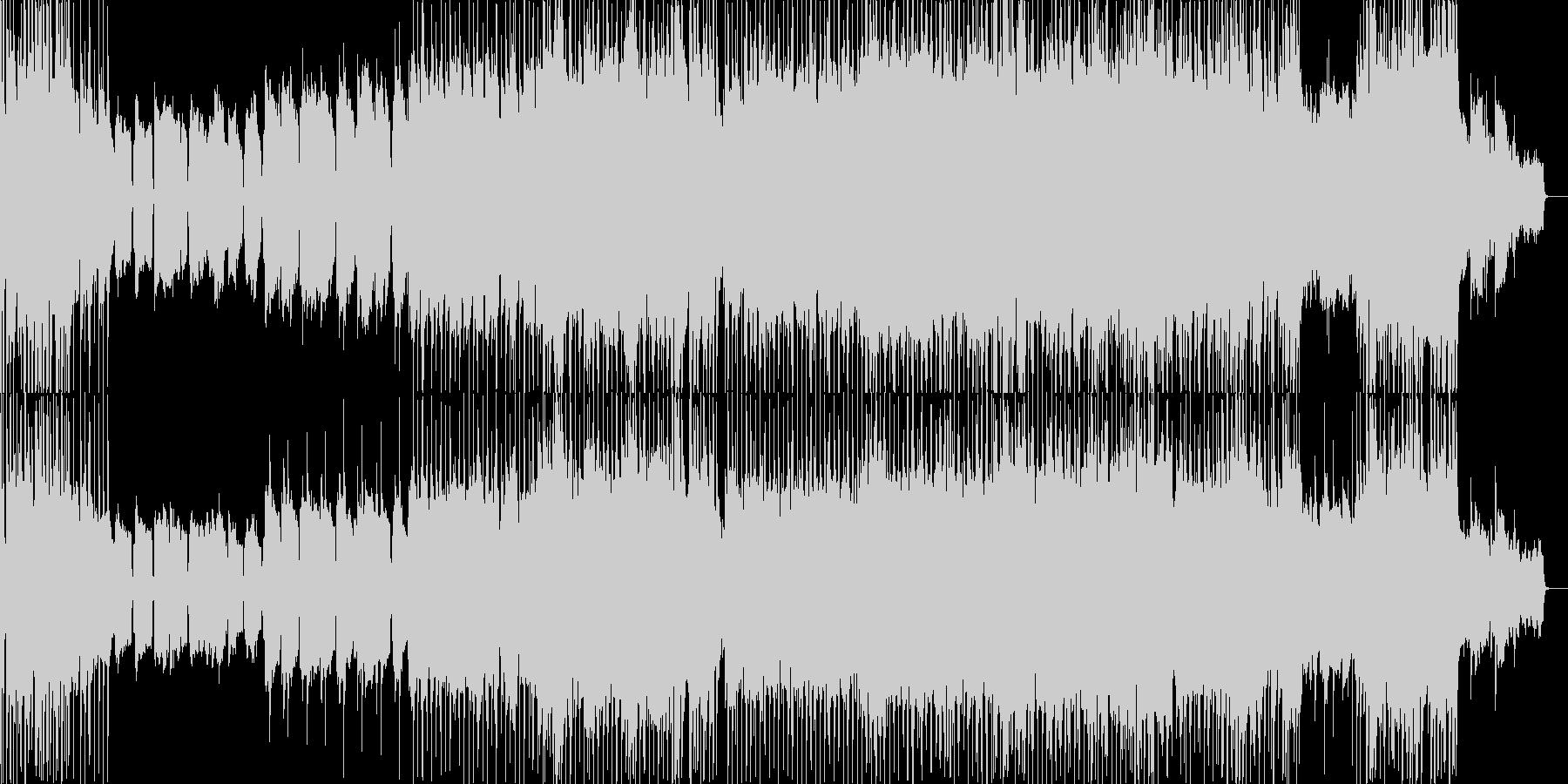 ゆるやかメロディのバラードの未再生の波形