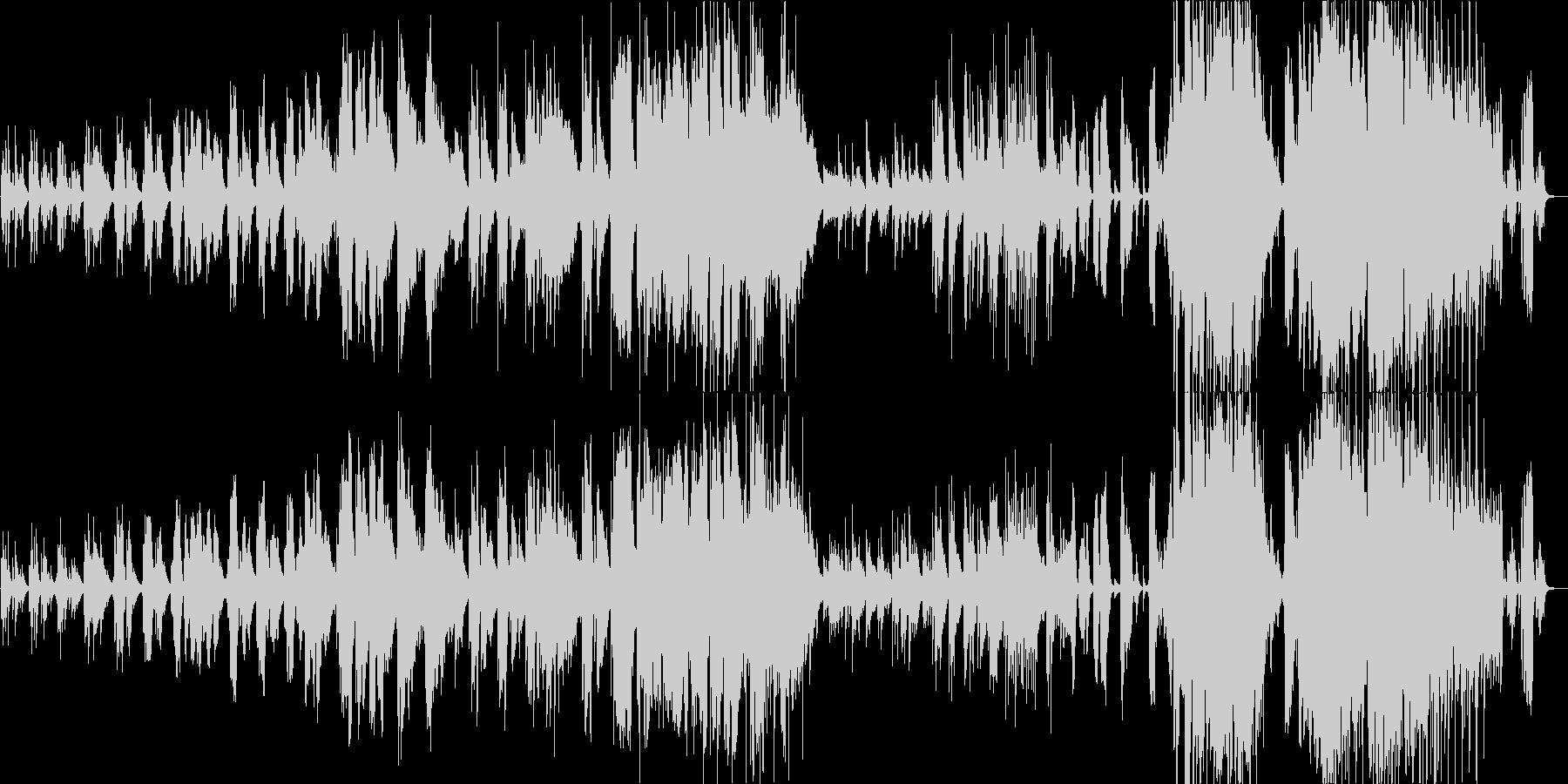 女性Vo./ピアノバラード/ノスタルジーの未再生の波形