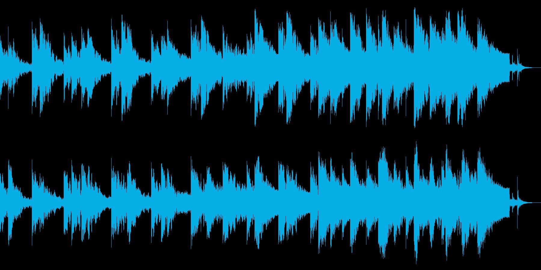 空間系ギターで導くほのぼの感の再生済みの波形