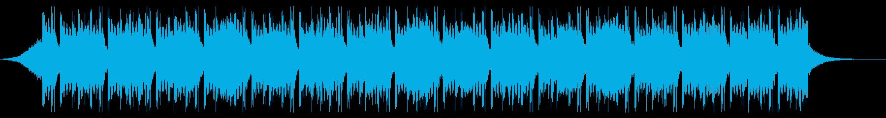 爽やかなFuture Bassの再生済みの波形
