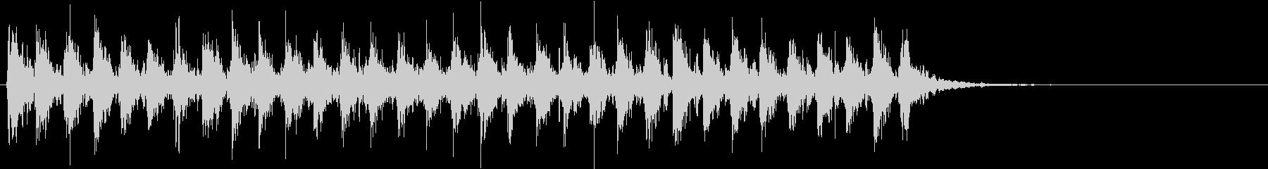 Xmasに最適トナカイベルのループ音04の未再生の波形
