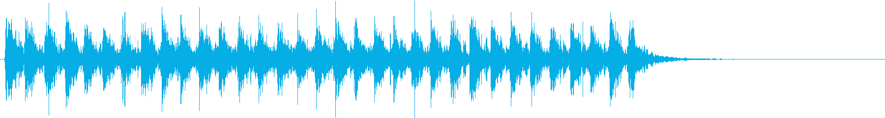 Xmasに最適トナカイベルのループ音04の再生済みの波形
