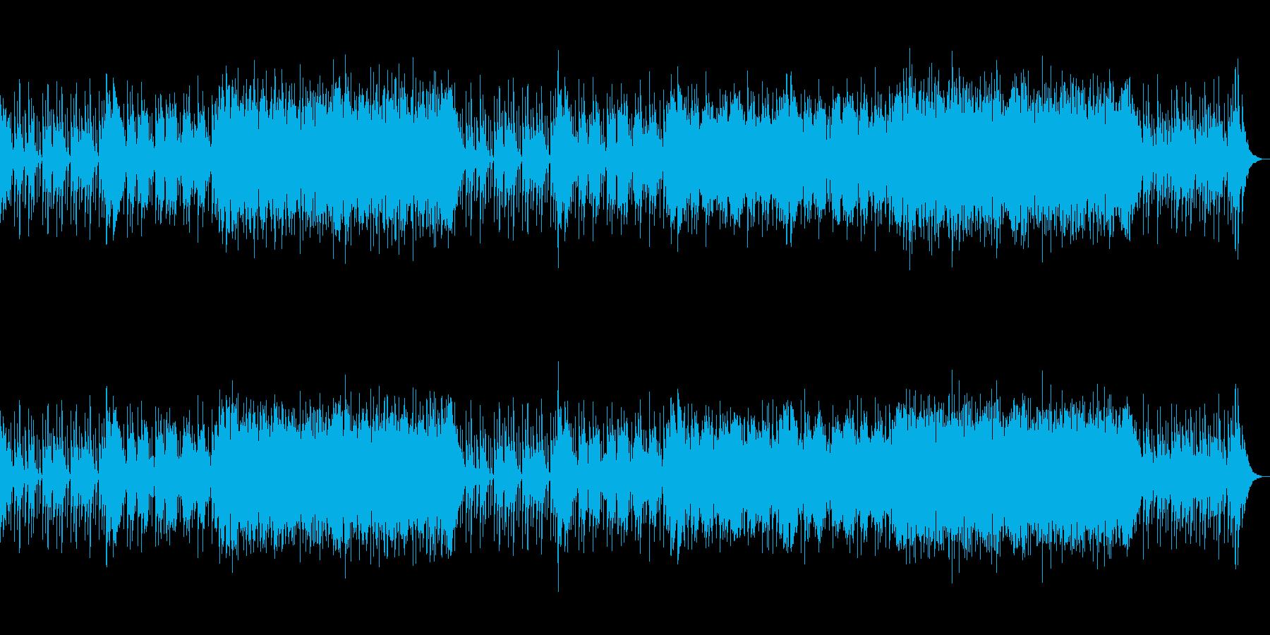 おしゃれでワクワクするCM・企業動画向けの再生済みの波形