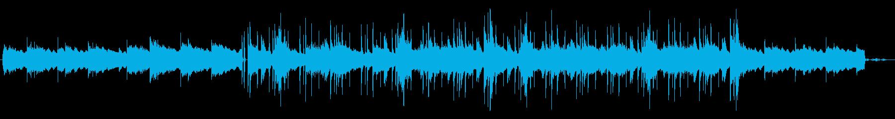 おしゃれなバー Lo-Fi ムーディーの再生済みの波形