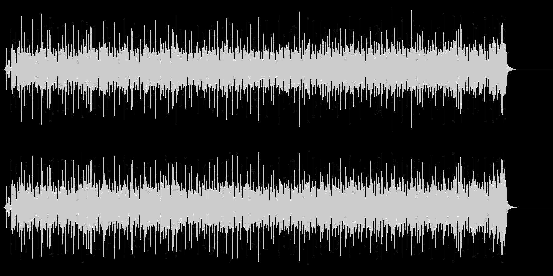 リズムの効いた、コマーシャルなポップスの未再生の波形