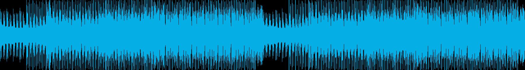ウキウキ楽しくなるダンスエレクトロBGMの再生済みの波形