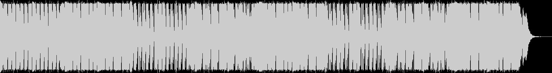 洋楽トロピカルハウス系爽やかEDMの未再生の波形