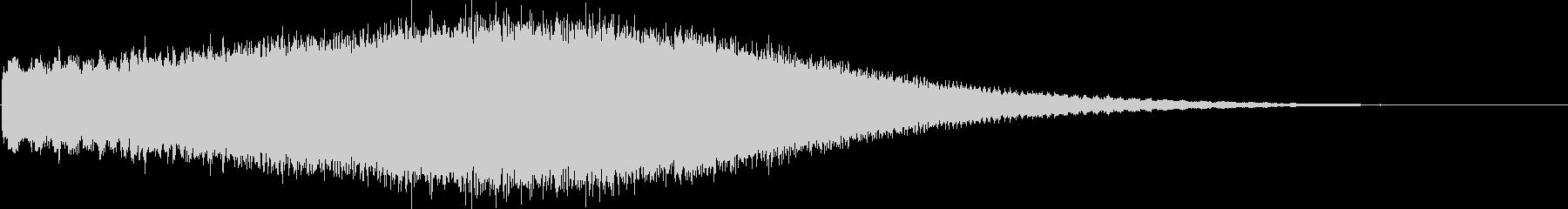 シンセエフェクト_SawRiserの未再生の波形