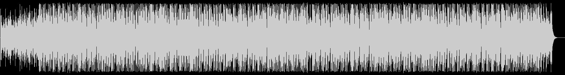 ピアノとシーケンサーのテクノポップの未再生の波形