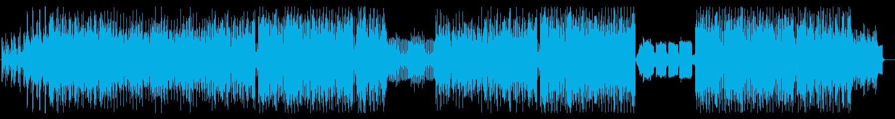 せつなポップスの再生済みの波形
