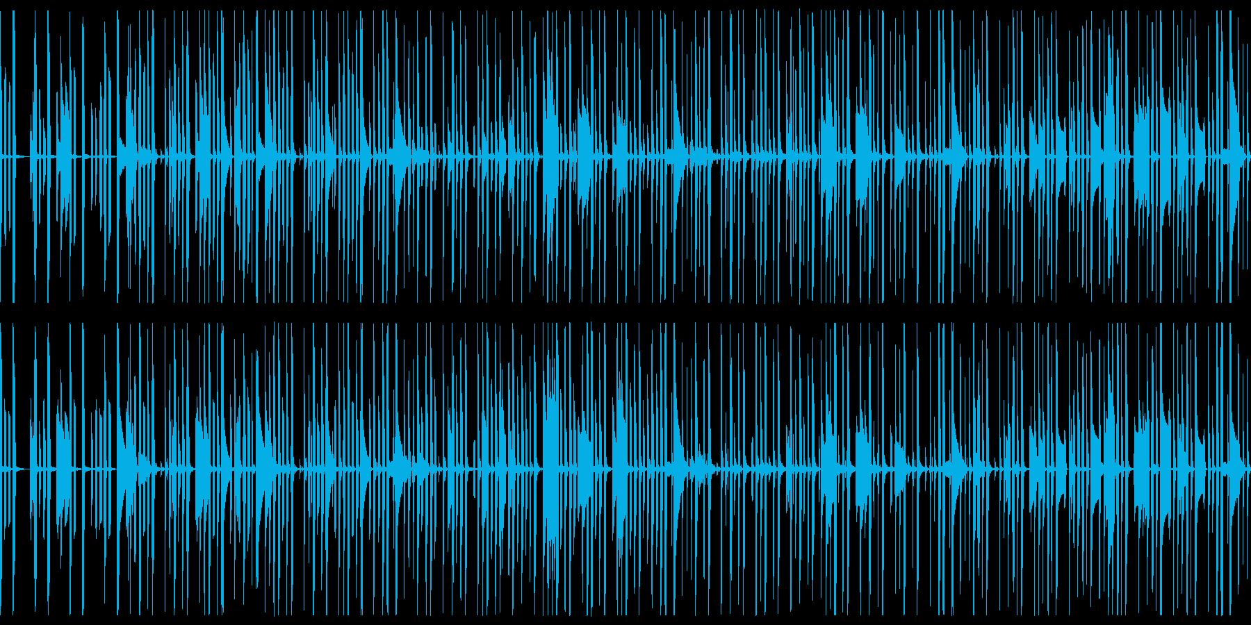 ゲームや配信向けにゆるくてかわいい日常系の再生済みの波形