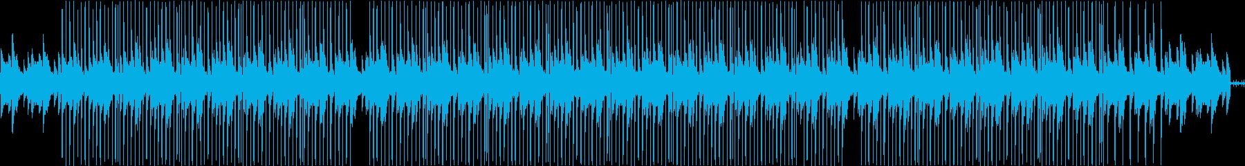 【チル】家で流したいLoFIヒップホップの再生済みの波形