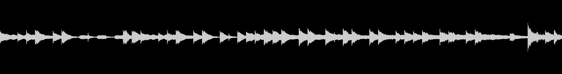 ほのぼの系オープニングBGM(ループ)の未再生の波形