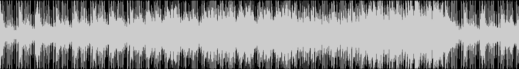 ゲーム用BGM 民族音楽風BGMの未再生の波形
