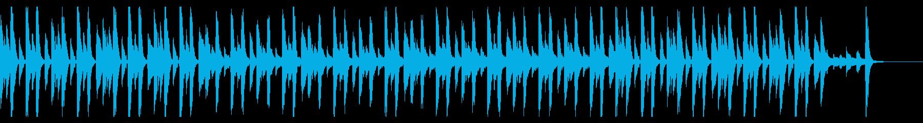PianoStepsの再生済みの波形