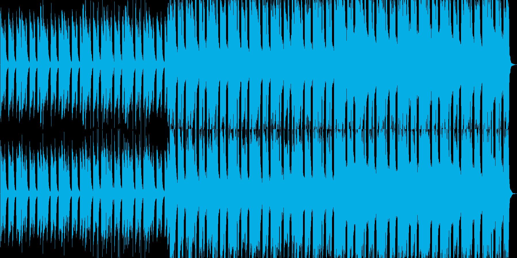 静かで力強いピアノが中心のバンドサウンドの再生済みの波形
