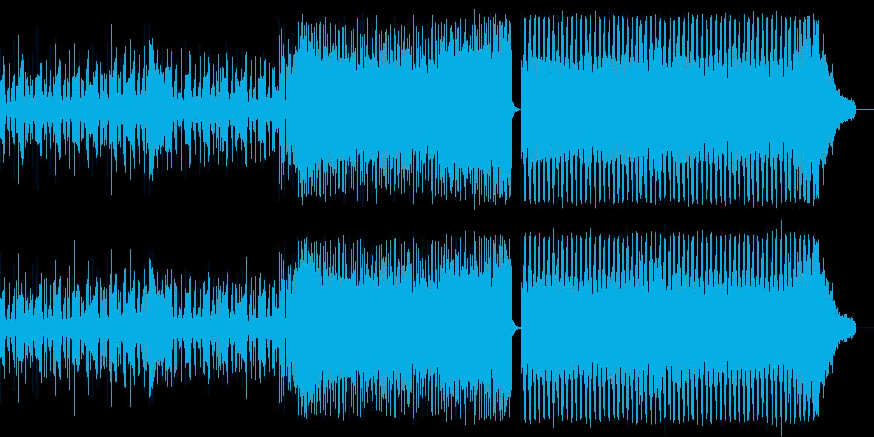 EDM オープニング 夜明け ランニングの再生済みの波形