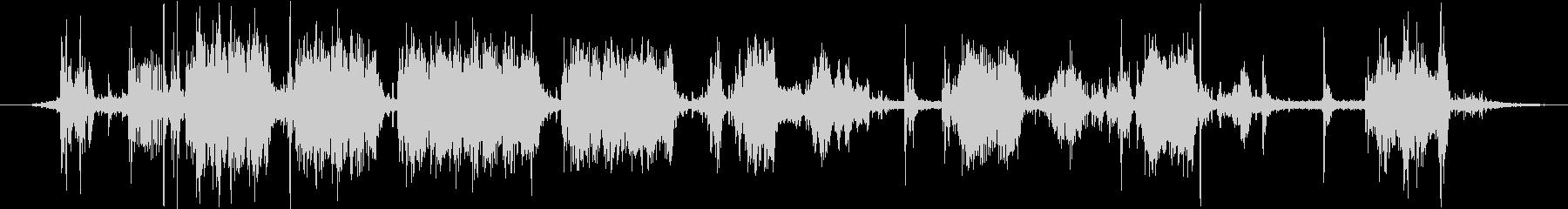特撮 コンピューターサウンド22の未再生の波形