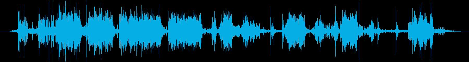 特撮 コンピューターサウンド22の再生済みの波形