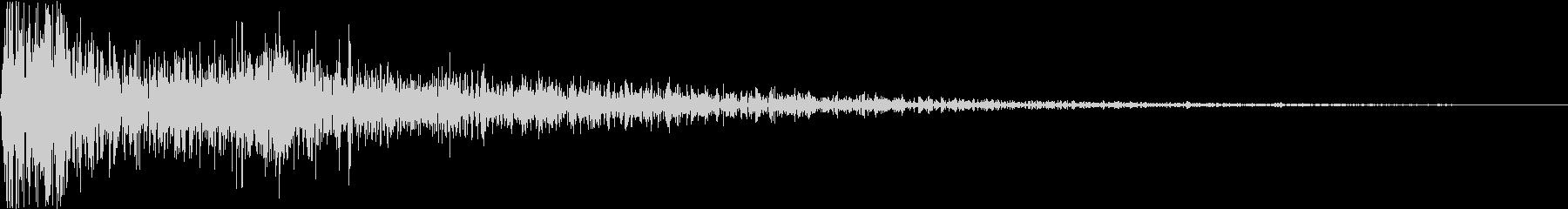 DTM Snare 9 オリジナル音源の未再生の波形