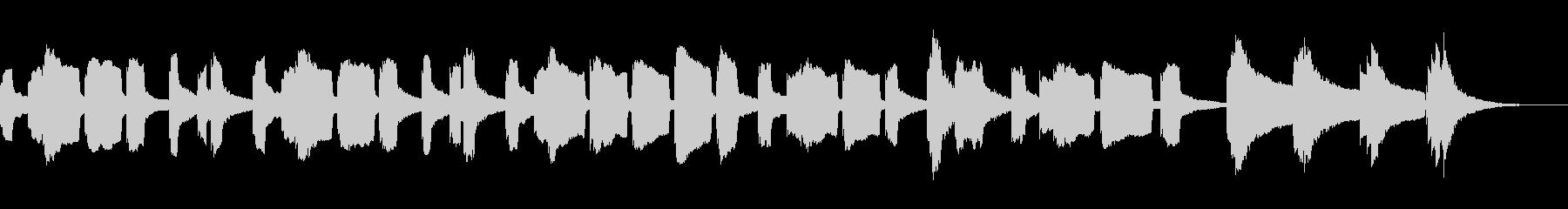 KANT可愛いハッピーバースデー2の未再生の波形