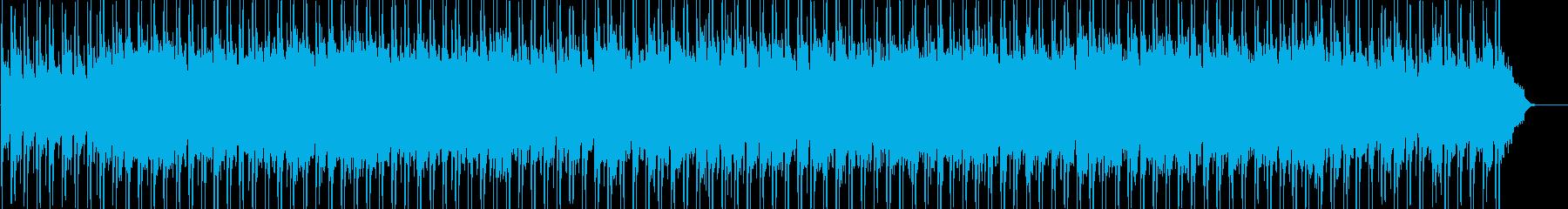 ハイテンポのおしゃれで都会的なボサノバの再生済みの波形