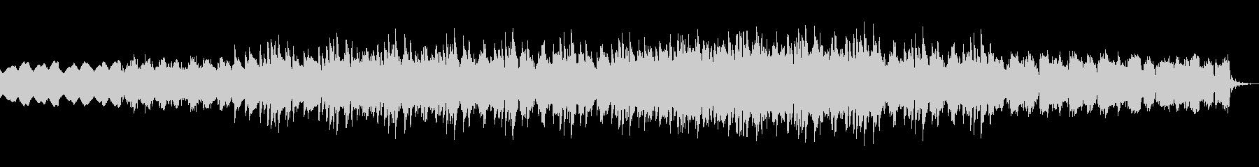 ドラムなしバージョンの未再生の波形