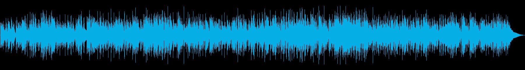 もの悲しいBossaNovaの再生済みの波形