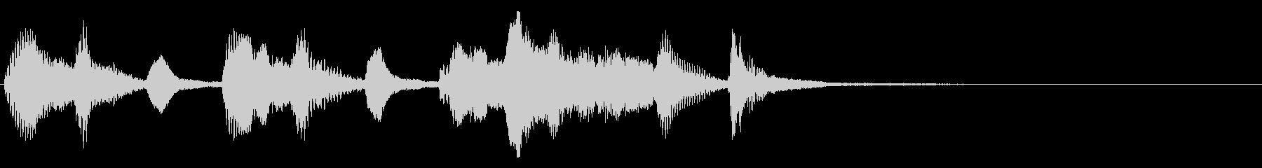 弦楽四重奏ジングル04 タイトルバックの未再生の波形