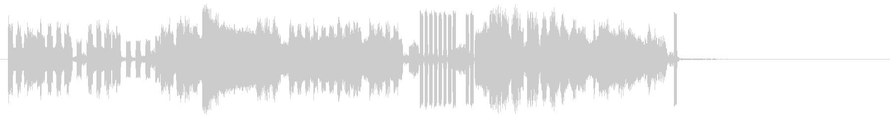 テレメトリレセプションの未再生の波形