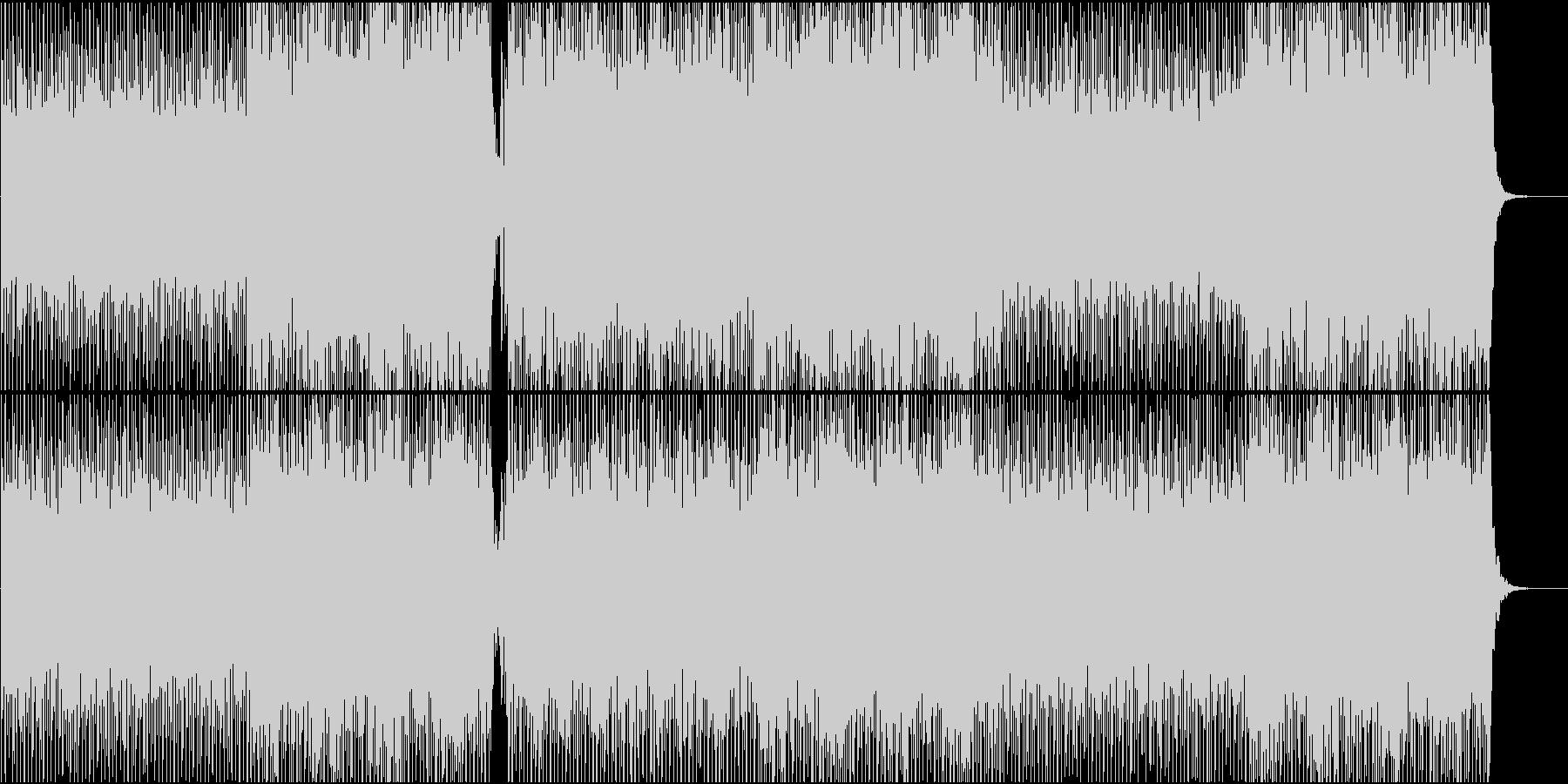 エレクトロニックポップBGM(Voあり)の未再生の波形