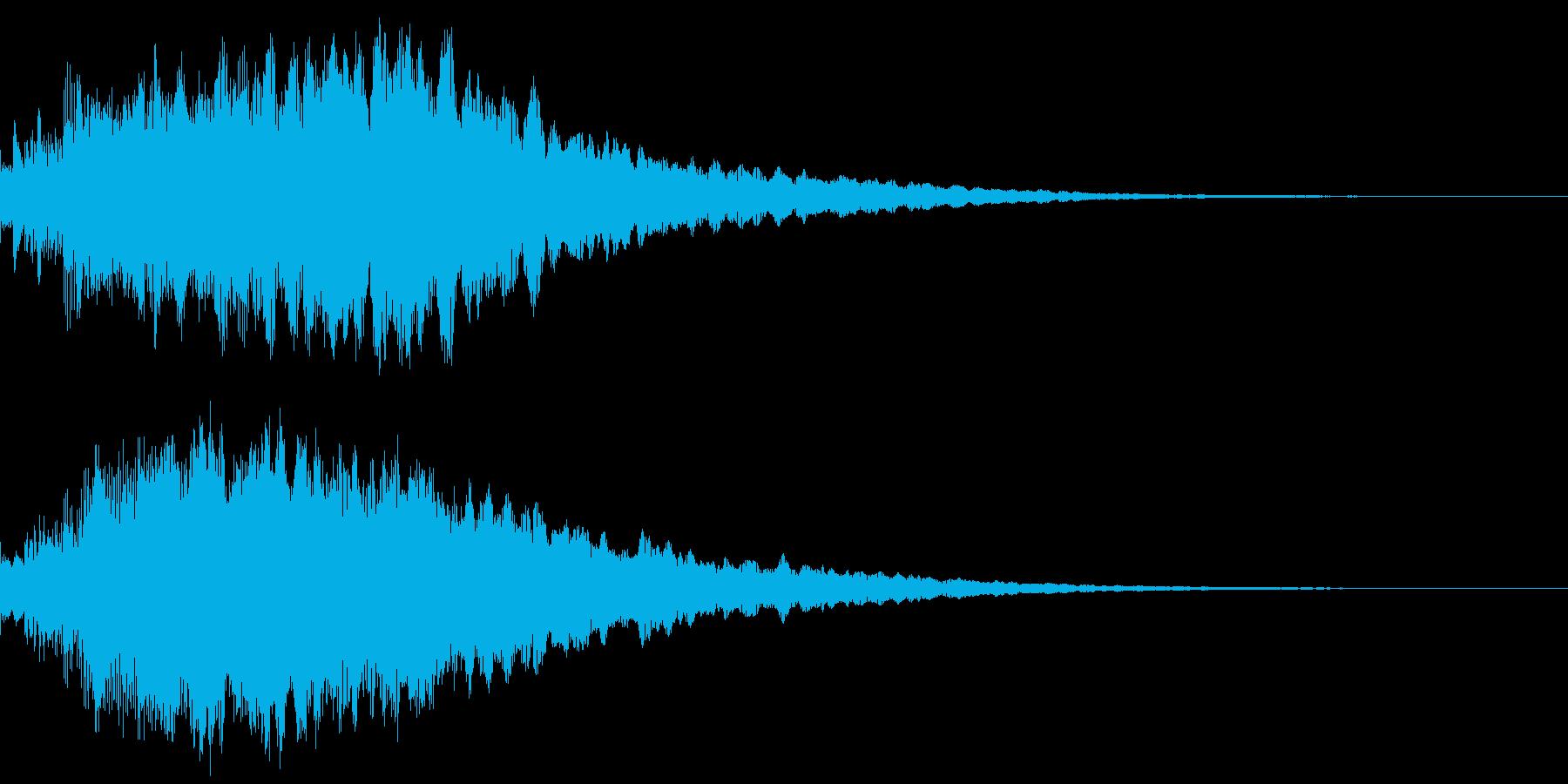 キラリン!(アイテムゲット、決定音)の再生済みの波形