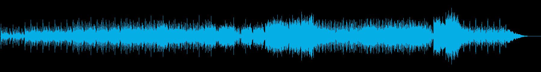 エスニックな印象のBGMです。の再生済みの波形